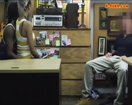 Guy Pawns His Girlfriends Pussy At The Pawnshop For Money - scene 7