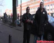 Punky Dutch Prostitute Fucking A Tourist - scene 2