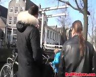Punky Dutch Prostitute Fucking A Tourist - scene 4