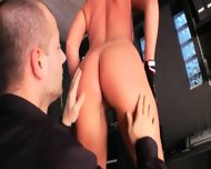 Brutal Butt Toying With Secretaries - scene 3