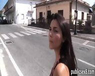 Busty Amateur Screwed Up With Stranger In Public Place - scene 1