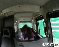 Big Boobs Teen Paid The Taxi Fare With Her Hairy Pussy - scene 4