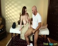 Massaged Redhead Lured - scene 11