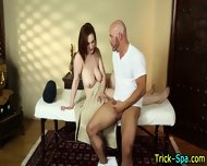 Massaged Redhead Lured - scene 12