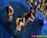 Outdoor Teen Pool Party - scene 8
