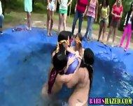Outdoor Teen Pool Party - scene 9