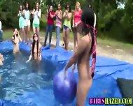 Outdoor Teen Pool Party - scene 10