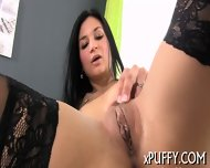 Hard Toy Plowing For Horny Babe - scene 8