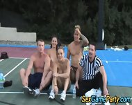 Outdoor Teen Group Naked - scene 10