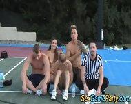 Outdoor Teen Group Naked - scene 11