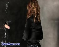 Gloryhole Glam Whore Rubs - scene 9