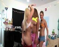 Two Amazing College Girls Sucking Dick - scene 1