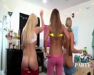 Two Amazing College Girls Sucking Dick - scene 2