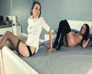 Hot Teens Teasing Herself In Pants - scene 7
