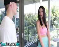 Teenie Begs For Creampie - scene 1