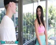 Teenie Begs For Creampie - scene 1