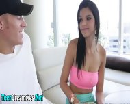 Teenie Begs For Creampie - scene 3