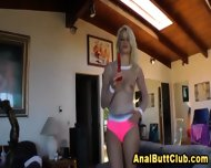 Booty Blonde Sucks Toy - scene 5