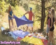 Outdoor Sex Game Party - scene 3