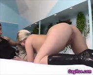 Gagging Blonde Whore - scene 4