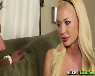 Gloryhole Masseuse Drinks - scene 1