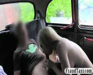 Big Boobs Amateur Shows Off Her Ass And Fucked In The Cab - scene 9