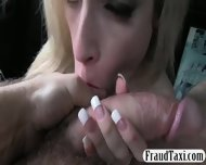 Big Boobs Amateur Shows Off Her Ass And Fucked In The Cab - scene 11