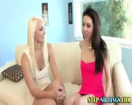Step Sis Teen Fingering - scene 1