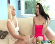 Step Sis Teen Fingering - scene 2