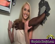 Interracial Gloryhole Ho - scene 2