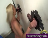 Interracial Gloryhole Ho - scene 6