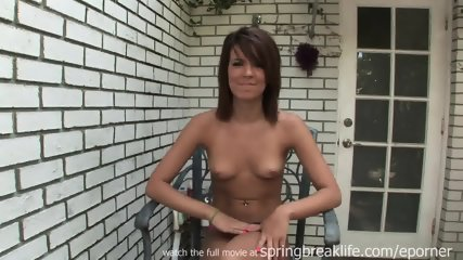 Getting Naked By The Pool - scene 9