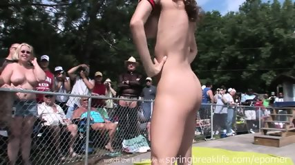 Naked Posing Outdoors - scene 2