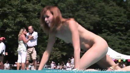 Naked Posing Outdoors - scene 6
