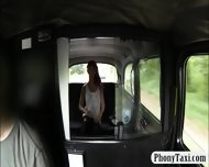 Punk Chick Pussy Pounded With Fake Driver At The Backseat - scene 3