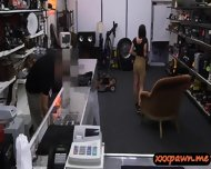 Hot Big Tits Slut Goes To A Pawnshop And Fucked For Money - scene 5