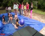 Lesbian Pool Hazing Fun - scene 11