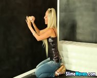 Ho Gets Sprayed Wam Style - scene 4