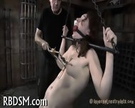 Hardcore Clamping Of Hot Jugs - scene 11