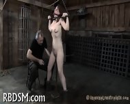 Hardcore Clamping Of Hot Jugs - scene 12