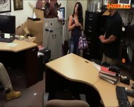 Cuban Chick Sells Her Tv Sells Her Pussy At The Pawnshop - scene 7