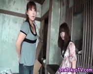 Pissing Japanese Lesbian - scene 8