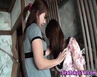 Pissing Japanese Lesbian - scene 9