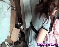 Pissing Japanese Lesbian - scene 10
