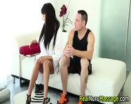 Nuru Masseuse Creampied - scene 1