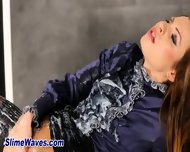 Pussy Rubbing Glam Slut - scene 5