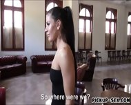 Eurobabe Athina Love Flashes Tits And Fucked For Money - scene 3