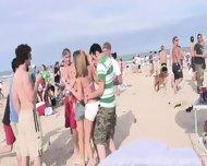 Texas Coeds Beach Party - scene 2
