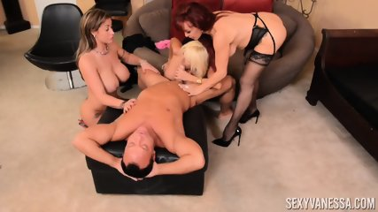 Three Mature Ladies For Lucky Man - scene 6