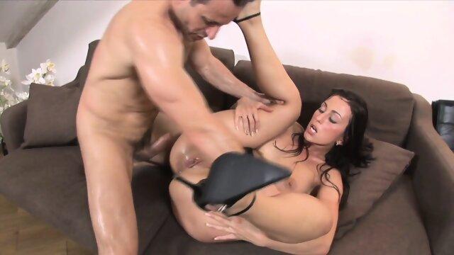 Sabrina Sabrok anal and cunt facialized Deepthoat BJ